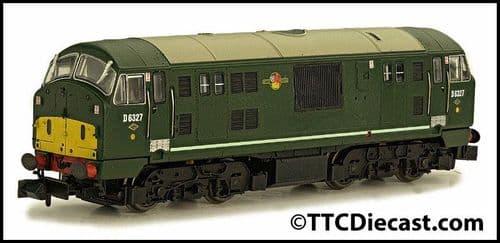 DAPOL 2D-012-011 Class 22 D6327 BR Green Amended WP Disc Headcode