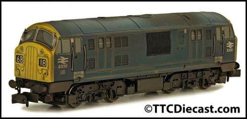 DAPOL 2D-012-012 Class 22 6330 BR Blue FYE Font B Weathered