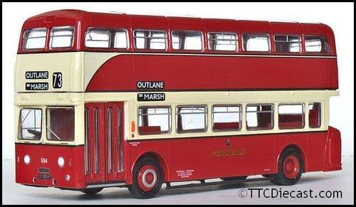EFE 18010 Daimler Fleetline - Huddersfield Corporation Rte 73 *LAST FEW*