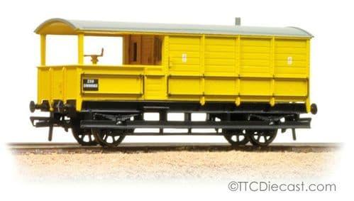 Farish 377-379 20 Ton Toad Brake Van BR Departmental Yellow