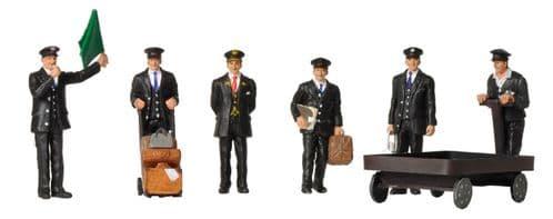 Farish 379-317 1940/50's Station Staff