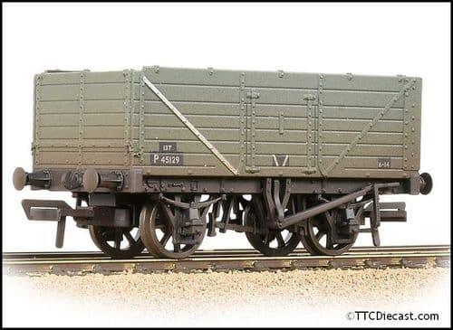 Farish 377-078C 7 Plank Wagon End Door BR Grey (Early) - Weathered  *PRE ORDER £19.51*
