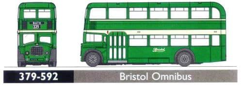 GRAHAM FARISH 379-592 Bristol Lodekka Bristol Omnibus *LAST FEW*