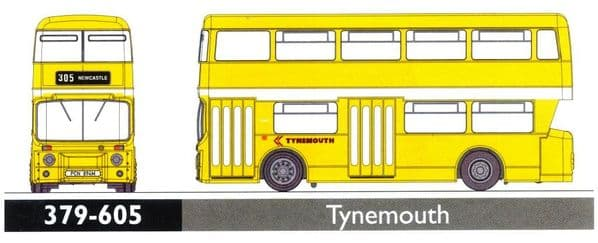 GRAHAM FARISH 379-605 Leyland Atlantean Tynemouth