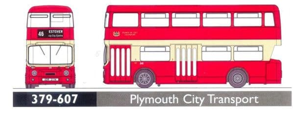 GRAHAM FARISH 379-607 Leyland Atlantean Plymouth City Transport