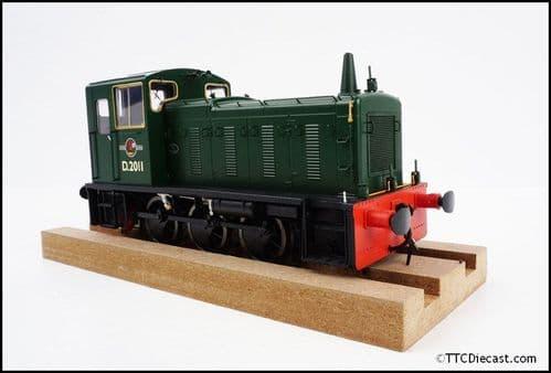 HELJAN 2051 Class 03 D2011 BR green Conical exhaust