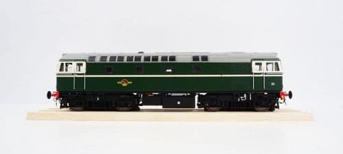 HELJAN 3393 Class 33/0 in BR green with no yellow ends - unnumbered