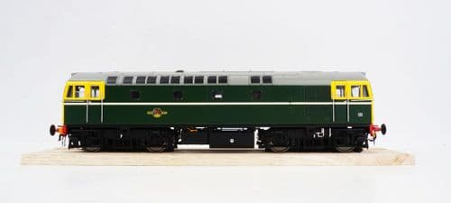 HELJAN 3395 Class 33/0 in BR green with full yellow ends - unnumbered