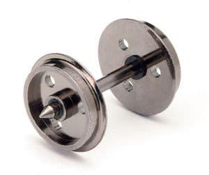 HORNBY R8097 Disc Wheels(3 Hole)/Axles (10 Sets)
