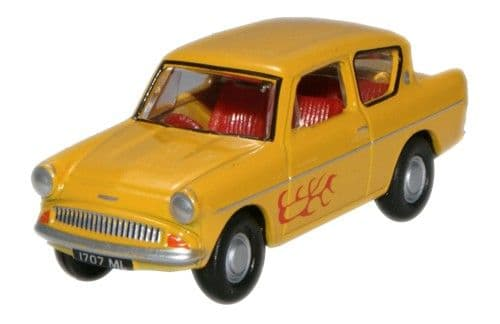 OXFORD 76105008 Ford Anglia - Yellow (The Young Ones)