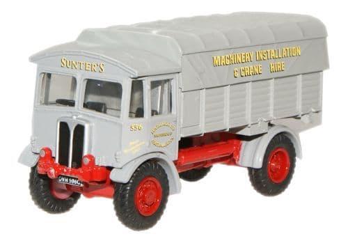 OXFORD 76AEC003 AEC Matador Lorry - Sunters