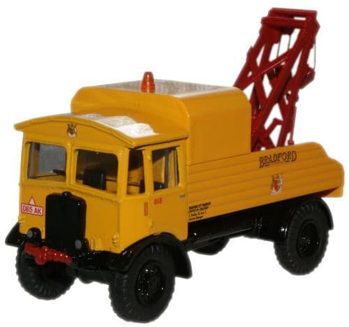 OXFORD 76AEC013 AEC Matador Wrecker - Bradford City Transo