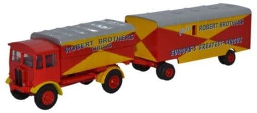 OXFORD 76AEC019 AEC Matador and Trailer - Robert Brothers