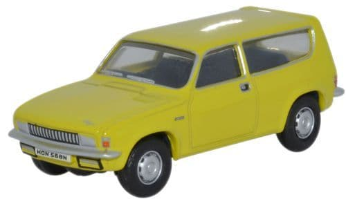 OXFORD 76ALL001 Austin Allegro Estate - Citron Yellow