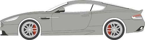 OXFORD 76AMDB9001 Aston Martin DB9 Coupe - Skyfall Silver