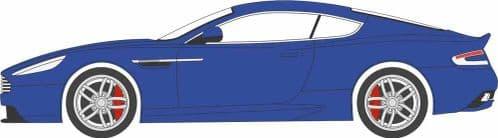 OXFORD 76AMDB9003 Aston Martin DB9 Coupe Cobalt Blue