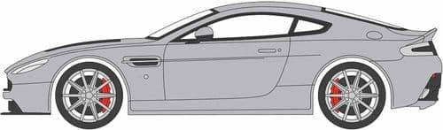 OXFORD 76AMVT002 Aston Martin V12 Vantage S Lightning Silve