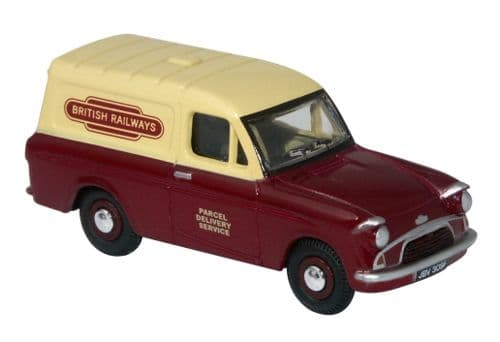 OXFORD 76ANG037 Ford Anglia Van - British Railways