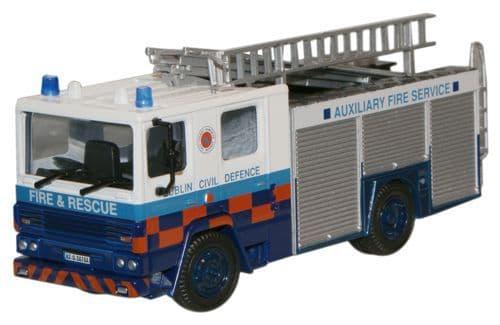 OXFORD 76DN002 Dennis RS Fire Engine - Dublin Civil Defen