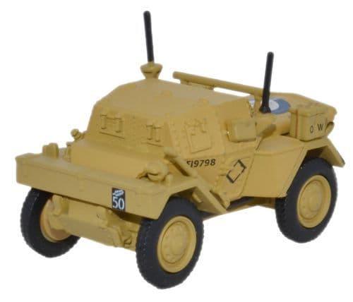 OXFORD 76DSC003 Dingo Scout Car HQ 2nd Div _ El Alamein 19