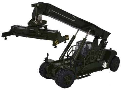 OXFORD 76KRS004 Konecranes Reach Stacker - NATO Green