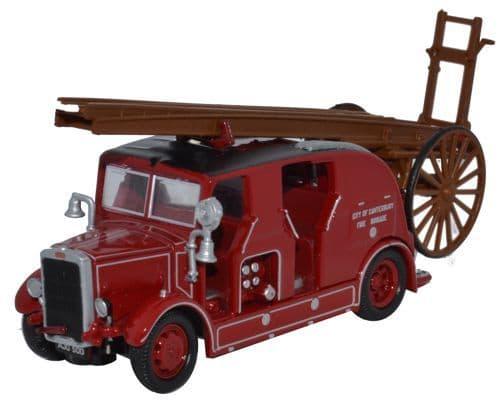 OXFORD 76LC002 Leyland Cub FK7 - City of Canterbury Fire