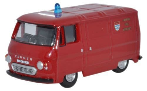 OXFORD 76PB005 Commer PB Van - London Fire Brigade