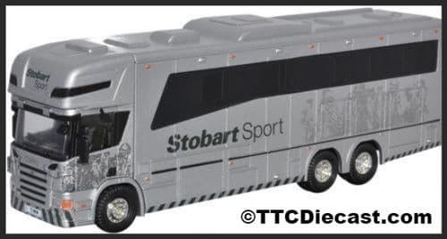 OXFORD 76SCA03HB Scania 380 Horsebox - Eddie Stobart