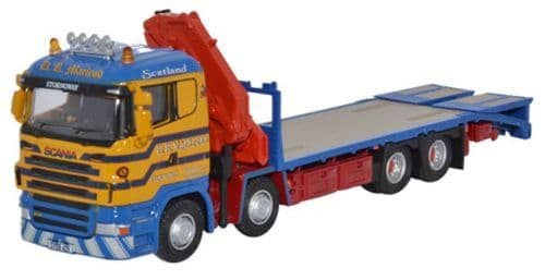 OXFORD 76SCL001 Scania Crane Lorry D R Macleod