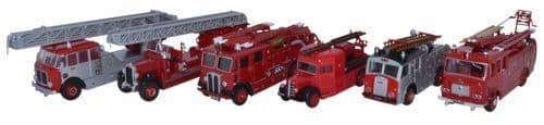 OXFORD 76SET31 6Pc London Fire Brigade 150th Anniv. WLG/T
