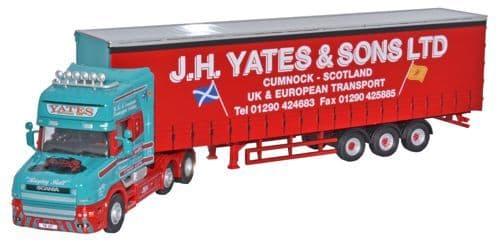 OXFORD 76TCAB003 Scania T Cab Topline C/side - J H Yates
