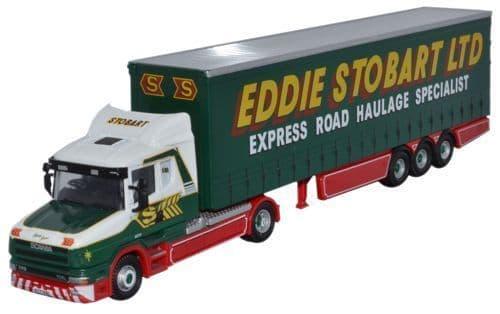 OXFORD 76TCAB007 Scania T Cab C/side - Eddie Stobart