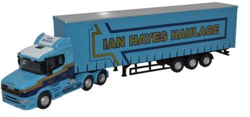 OXFORD 76TCAB009 Scania T Cab Curtainside - Ian Hayes