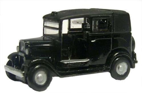 OXFORD NAT001 Austin Low Loader Taxi - Black