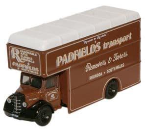 OXFORD NBP003 Bedford Pantechnicon Padfields Transport