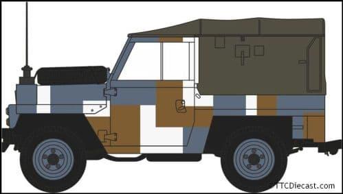 OXFORD NLRL004 Land Rover Lightweight Berlin Scheme
