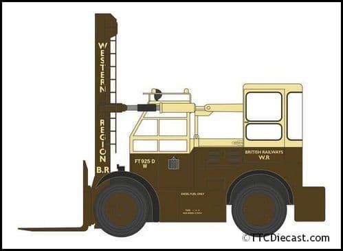 OXFORD NSDF001 Shelvoke & Drewry Freightlifter British Rail (Western)