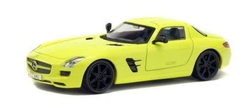 SOLIDO 4401100 Mercedes SLS AMG - Green  1:43 Scale