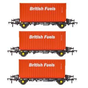 Accurascale ACC2066BFLF PFA - British Fuels Coal Containers F