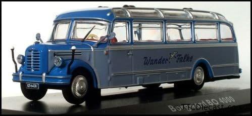 ATLAS EDITIONS 4642 113 - Borgward BO 4000 Coach - Wander Falke, Germany *PRE OWNED*
