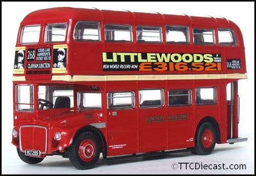 ATLAS EDITIONS 4655 108 - AEC Routemaster - London Transport *PRE OWNED*
