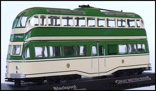 ATLAS EDITIONS 4655 113 - English Electric Balloon Tram - Blackpool Corporation *PRE OWNED*