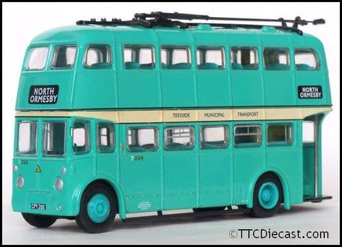 ATLAS EDITIONS 4655 115 - Sunbeam F4/Roe Trolleybus - Teeside Municipal Transport *PRE OWNED*