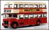 Atlas Editions 4655 124 AEC Regent East Lancs Double Deck Bus St Helens Corporation Transport