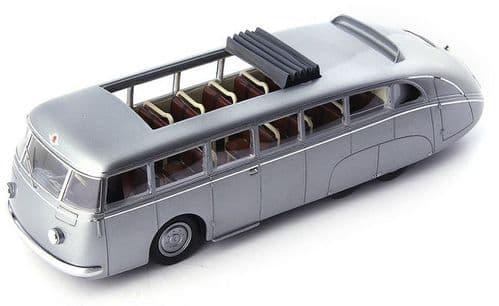 Autocult ATC 10005 - Skoda 532 Autobahnbus Silver Metallic