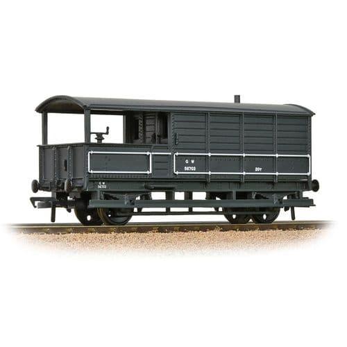 Bachmann 33-300H GWR 20T 'Toad' Brake Van GWR Grey