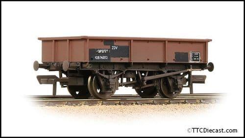 Bachmann 37-357 BR 13T Steel Sand Tippler BR Bauxite (Departmental) - Weathered, OO Gauge