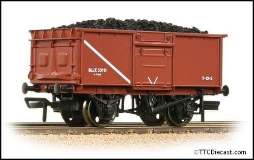 Bachmann 37-376D 16T Steel Mineral Wagon MOT Bauxite Includes Load, OO Gauge