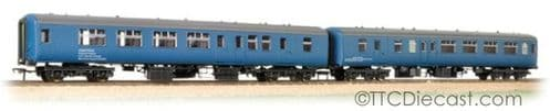 Bachmann 39-002 Twin Pack BR Mk2A BFK HST Barrier Vehicles