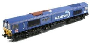Bachmann / Rainbow Class 66 '66047 'Maritime Intermodal Two' Maritime / DB Schenker